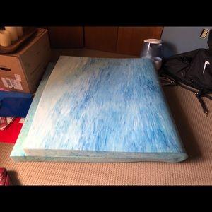 twin XL mattress pad